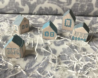 Wooden Houses for Christmas Trees