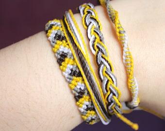 PassionFruit Casual Combo Bracelets, Guatemalan Bracelets, Handmade bracelets, colorful bracelets, fruit based, weave, friendship bracelets.