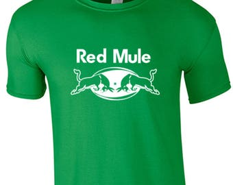 RED GREEN WHITE MULE