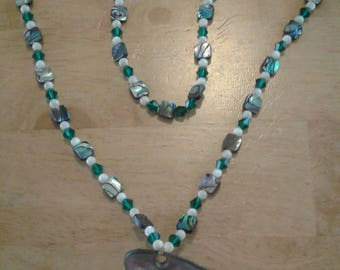 Red Abalone necklace