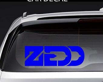ZEDD EDM Decal Sticker