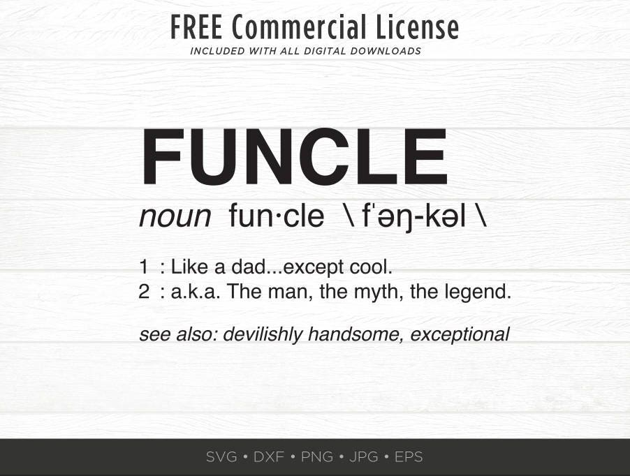 funcle svg funny uncle svg uncle definition svg funkle etsy clip art easter etsy clipart of african american king