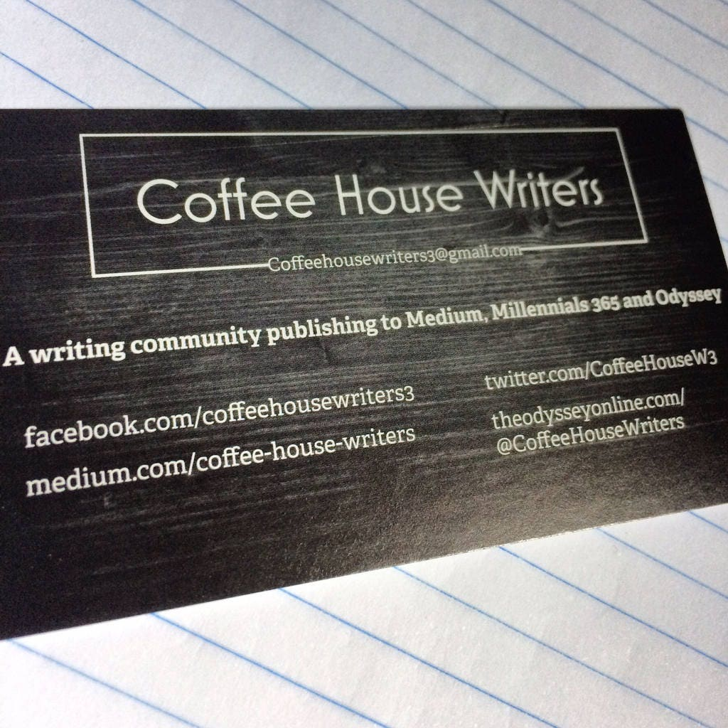 Writers business cards image collections free business cards coffee house writers business cards 100 ct description coffee house writers business cards magicingreecefo image collections magicingreecefo Choice Image