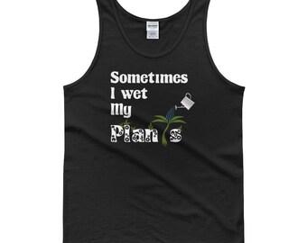 Sometimes I Wet my Plants Tank top, garden tank top, gifts for gardeners, gardening tank top, gardener gift, gift for gardeners