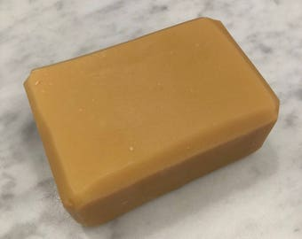 Handcrafted  Lemongrass Goat Milk Soap