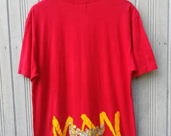 Vintage Kansai Man Kansai Yamamoto Japanese Designer TShirt Size M