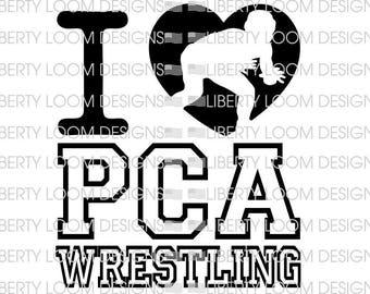 I heart PCA wrestling