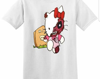 Goodbye Kitty (Medium) Unisex T-Shirt