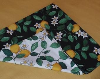 """Pillow cover """"Lemon blossom"""""""