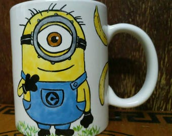 Cup with Minion! 350 ml.