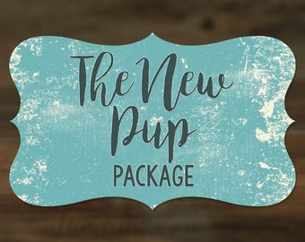The New Pup Package - Back to Basics - Puppy Set