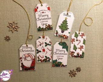 N. 6 Shakertag (gift) Christmas