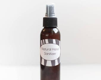 4 Ounce Natural Hand Sanitizer