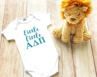 Alpha Delta Pi legacy/ADPi legacy/Alpha Delta Pi baby bodysuit/ADPi baby shower gift
