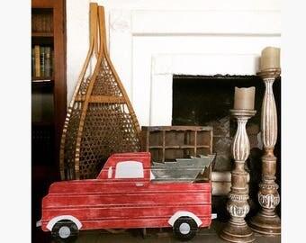 Red Farm Truck