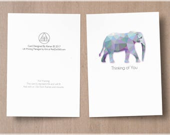 Thinking Of You (elephant) -  Alcoholics Anonymous ( AA ) themed. DOWNLOAD VERSION