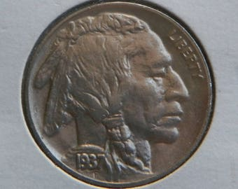 1937 Buffalo Nickel Uncirculated Condition