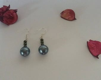 Cultured Pearl imitation earrings