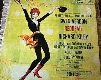 Gwen Verdon Redhead Album Original Cast Recording
