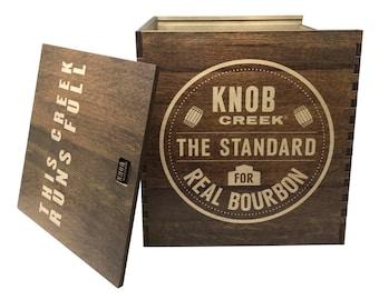 Knob Creek Bourbon Crate - Hold 6 Bottles or Boxes of Knob Creek Bourbon