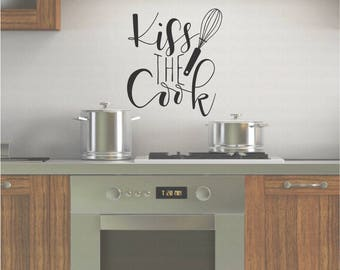 Kitchen Decals Etsy - Vinyl decals for kitchen walls