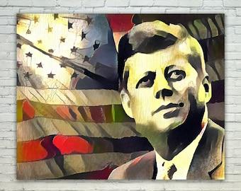John Kennedy - John Kennedy Poster,John Kennedy  Art,John Kennedy Print,John Kennedy Poster,John Kennedy Merch,John Kennedy Wall Art, JFK