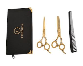 Professional Hair Cutting Scissors Set