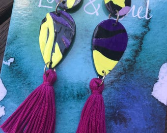 Double dangle with tassel