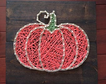 Fall Pumpkin String Art, Made to Order