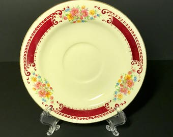 "Homer Laughlin ""Lady Alice"" saucer"