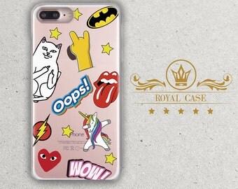 iPhone 7 case, iPhone 6S Plus Case, iPhone 7 Plus case, iPhone 8 Case, iPhone 6S Case, iPhone 8 Plus Case, Unicorn, Nermal Cat, u149