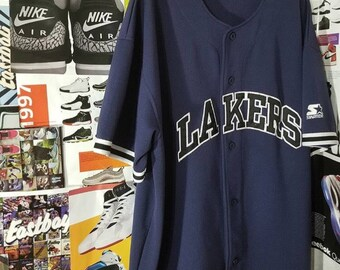 Starter Lakers Baseball Jersey