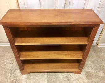 Real Mahogany Wood Bookshelf