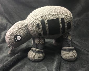 Imperial Walker AT-AT inspired plush