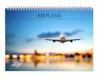 Airplane 2018 Wall Calendar