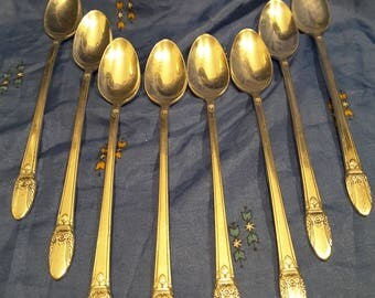 1847 ROGERS BROS. Finest Silverplate 'First Love' Spoon Set