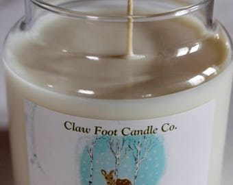 Claw Foot Candle Co. White Birch Scented Candle