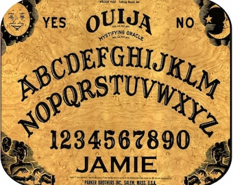 Personalized Mouse Pad - Ouija Board