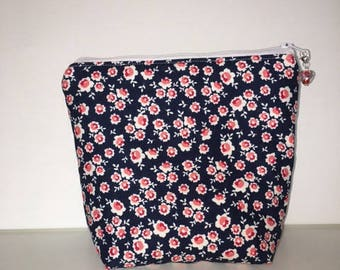 Zipper Cosmetic Bag, Zipper Pouch