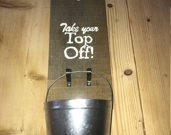 Hanging Beer Bottle Opener