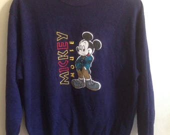 Vintage Mickey mouse sweatshirts Rare