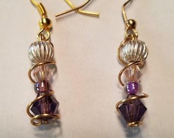 Dainty Swirls Earrings