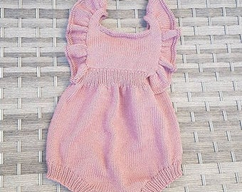 Kuzzy Design Baby Knit Romper,Newborn Knit Romper,Newborn Photo,Newborn/3/6/9/12/18/24 month baby knit romper