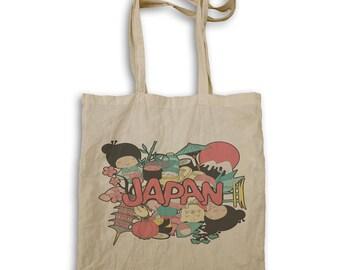 Beautiful Japan Travel Tote bag m858r