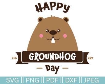 Happy Groundhog Day Clip Art | www.pixshark.com - Images ...