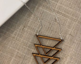 Birch Wood Necklace