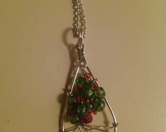 The Giving Tree inspired tree of life charm necklace