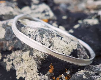 Mara bangle - sterling silver bracelet