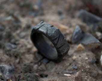The Caveman by STOIC Steel Nut Hex Ring, Wedding Ring, Mens Ring, Nut Ring, Hexagonal Ring, Handmade Ring, Hardware Ring, Anniversary