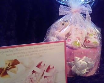 nappy cake baby gift